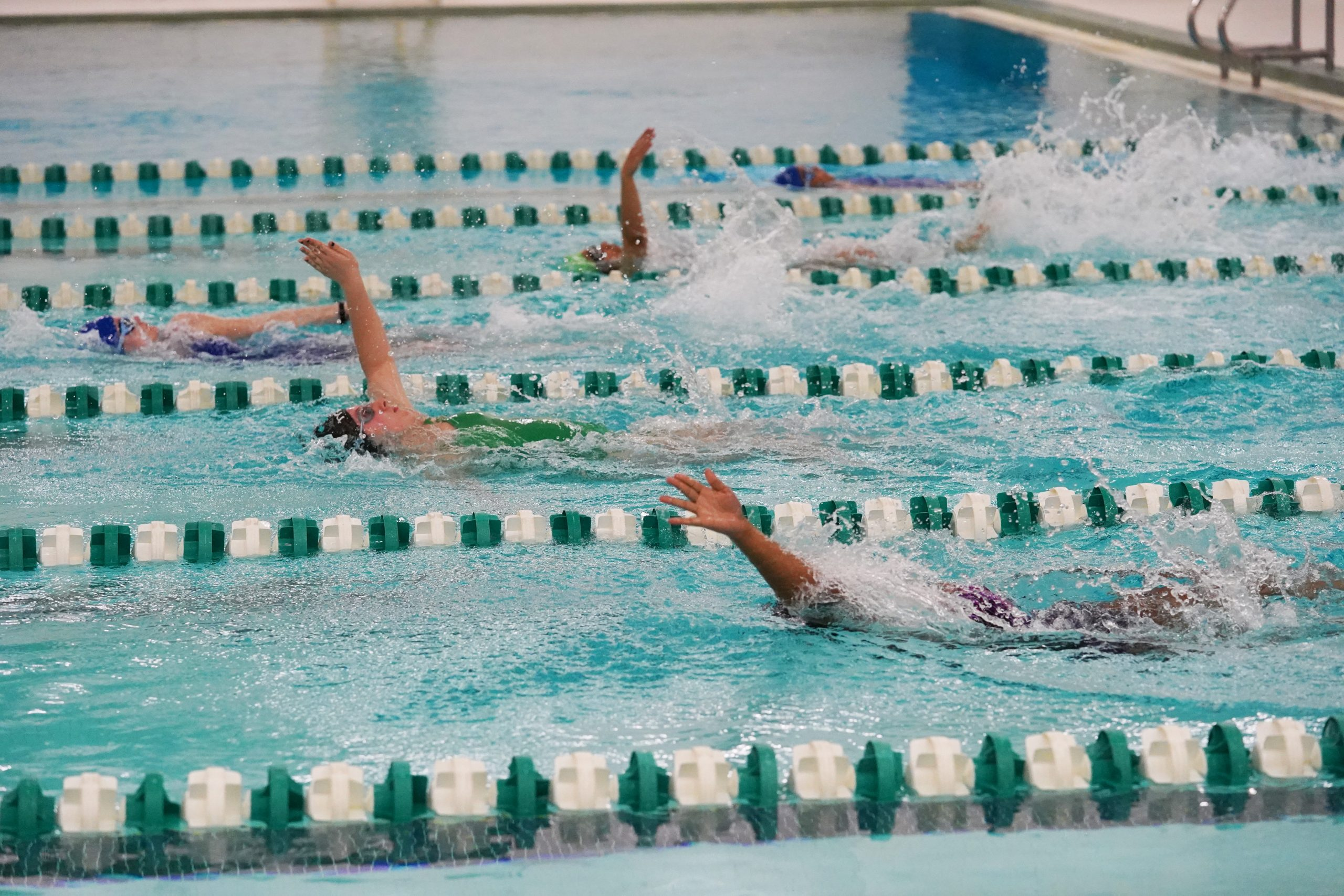 IPS Holds First HS Girls Swimming Championship Meet