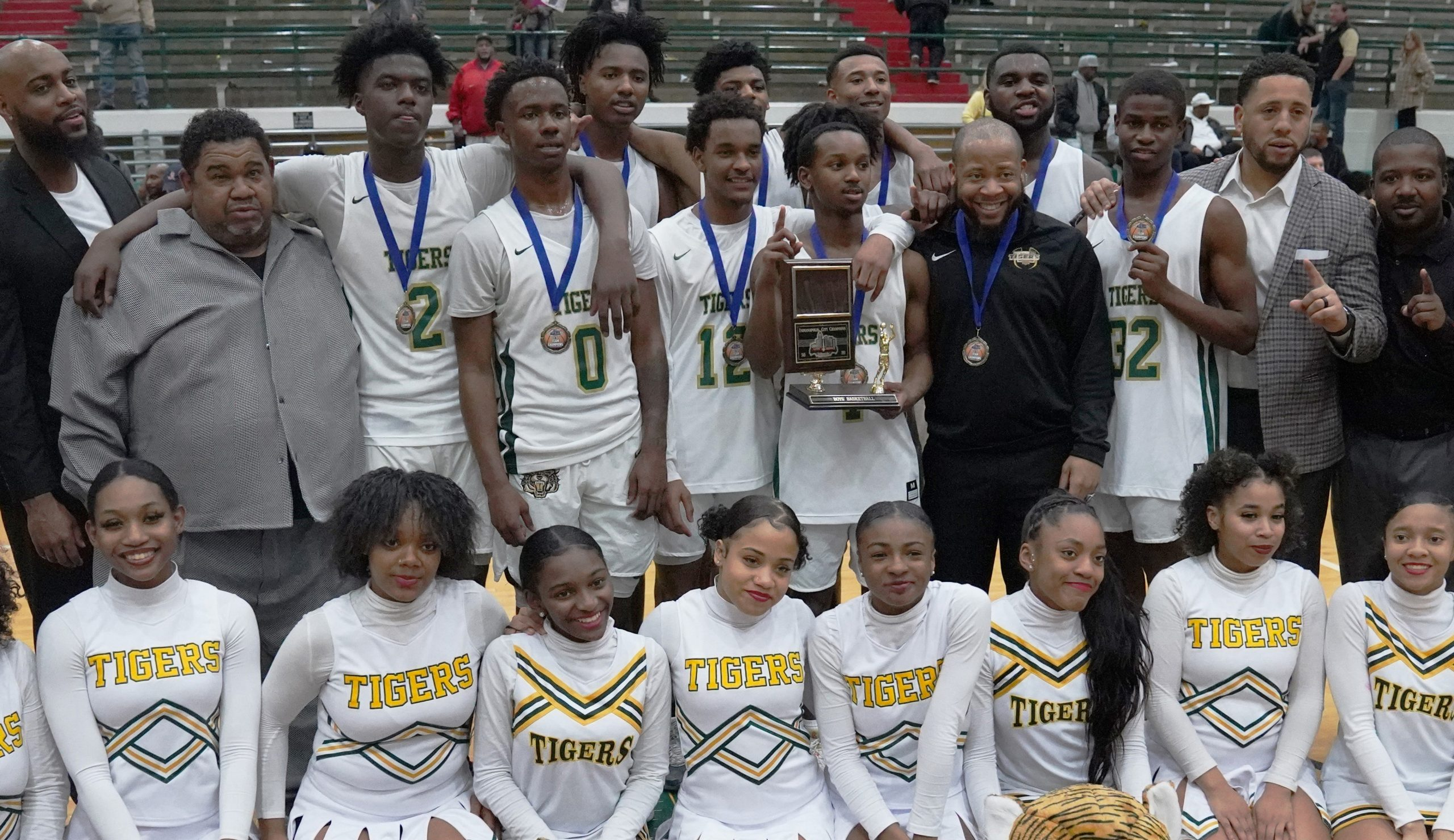 Attucks Boys Basketball Wins City Championship