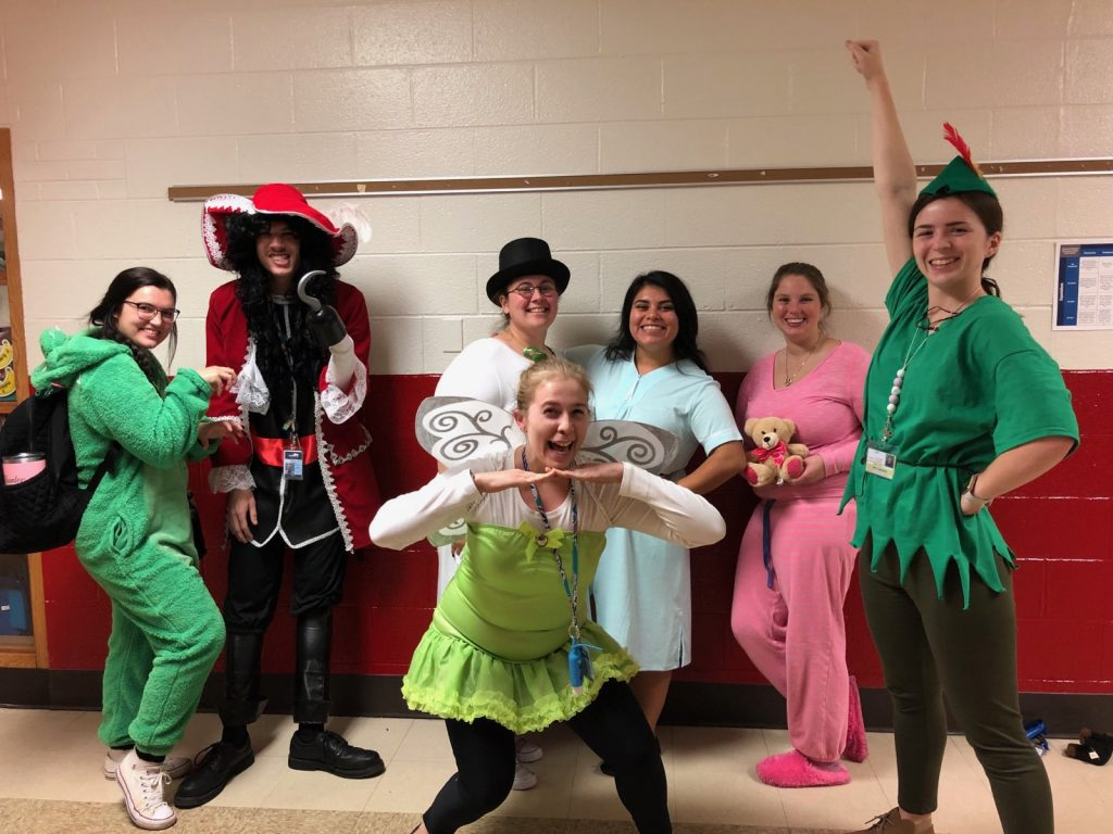 Kindergarten Halloween Peter Pan Experience