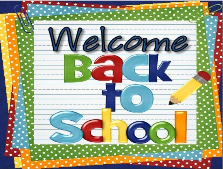 WELCOME BACK STUDENTS!                                            1st Day of School – Monday, August 2nd