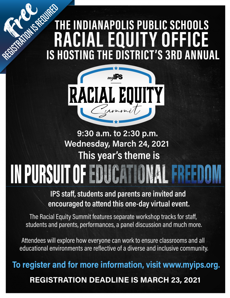 Racial Equity Summit – Wednesday, March 24th