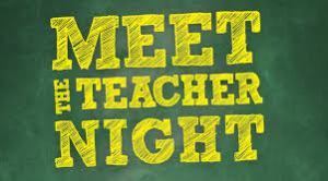 BACK TO SCHOOL – Meet the Teacher Night – Thursday, July 29th