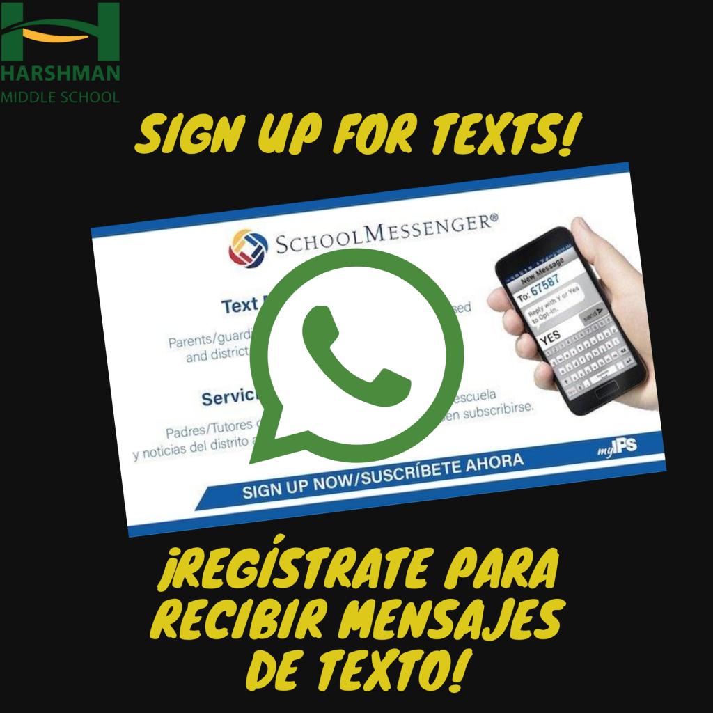 Click here to sign up for texts. Haga clic aquí para suscribirse a los textos.