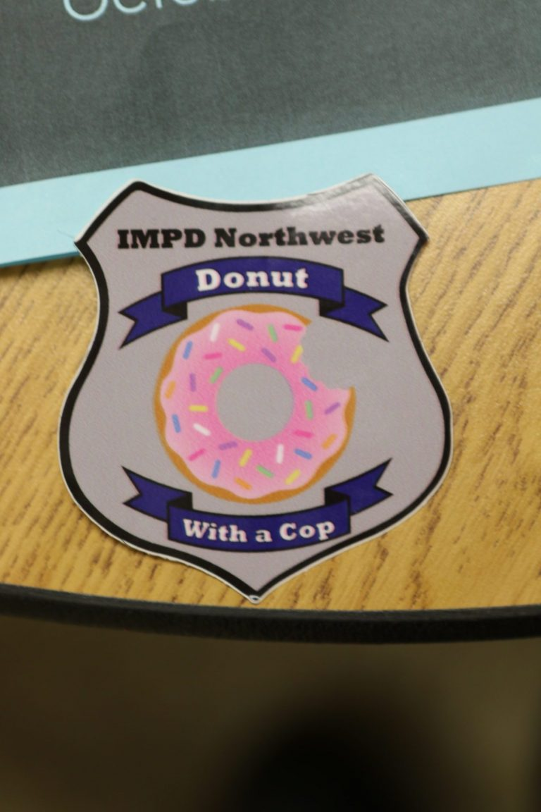 Doughnuts with a cop