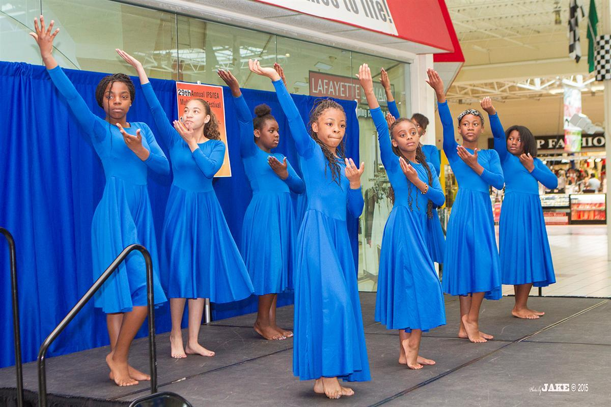 Youth perform at Multicultural Festival