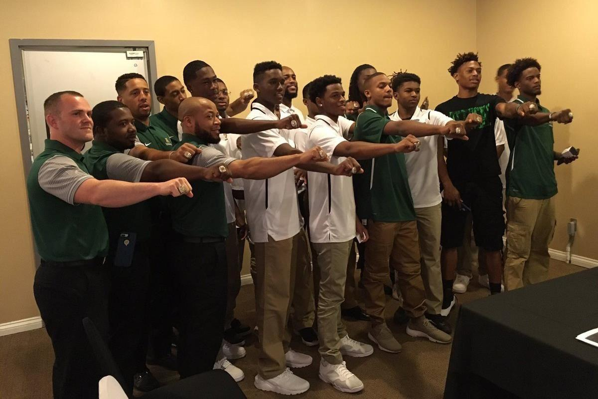 Attucks Ring Ceremony