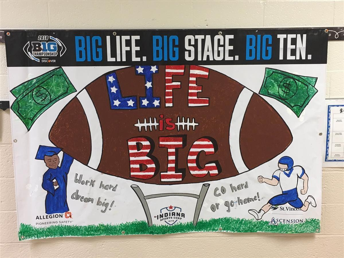 Big Ten Poster Step Ahead Academy