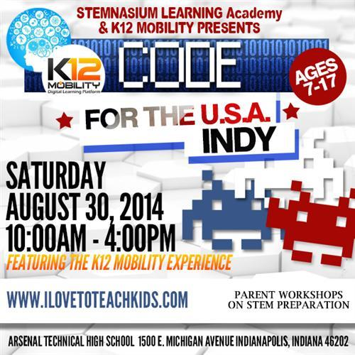 Code for USA flyer