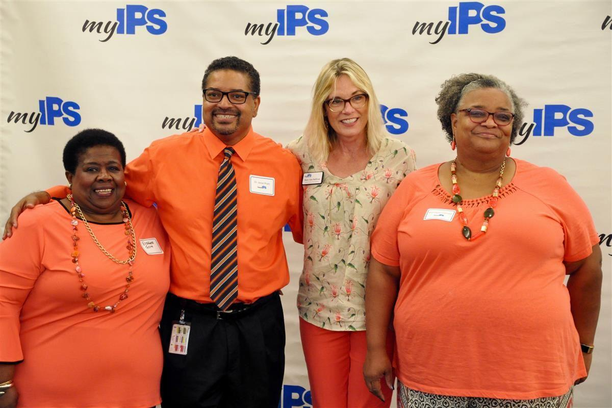 IPS Administrators, Board Commissioners and the district's teacher leaders gathered for a day of fun, inspiration