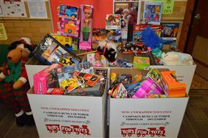 Toys for Tots presents