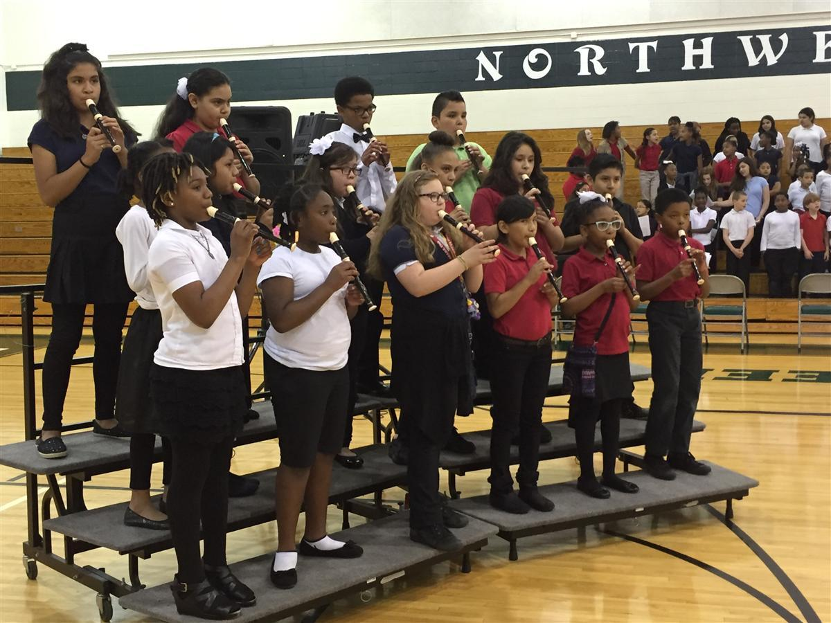 Students participate in annual IPS Songfest.