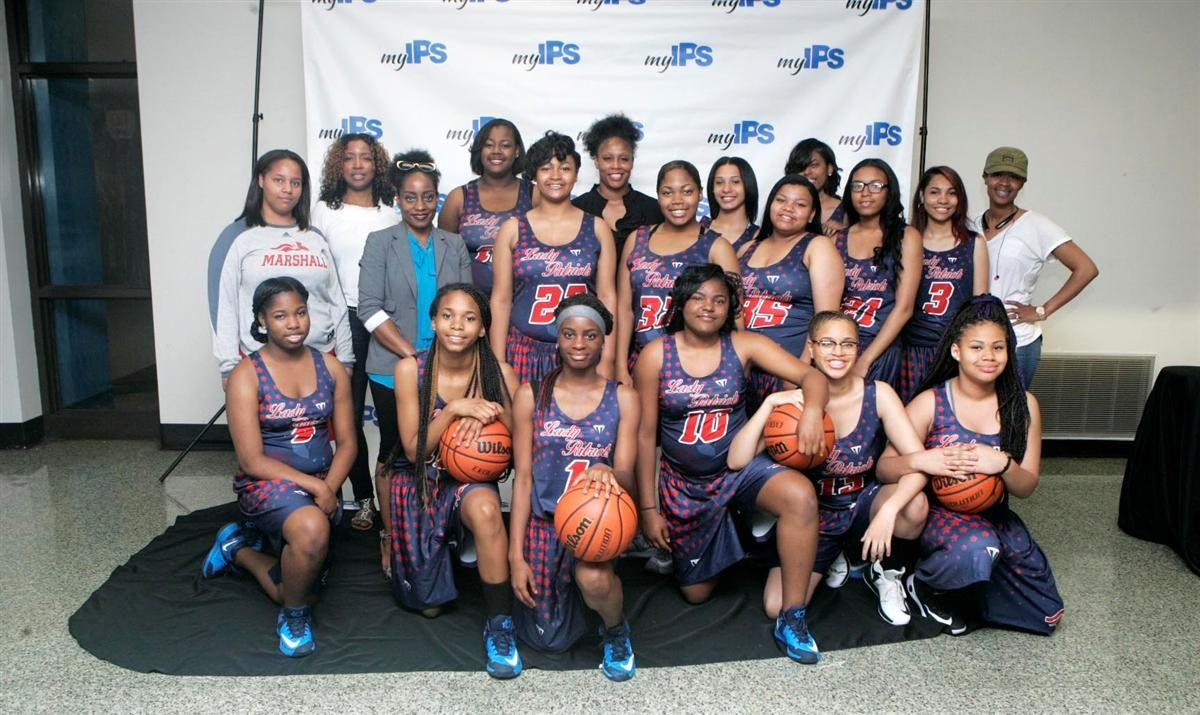 John Marshall Girls Basketball Team
