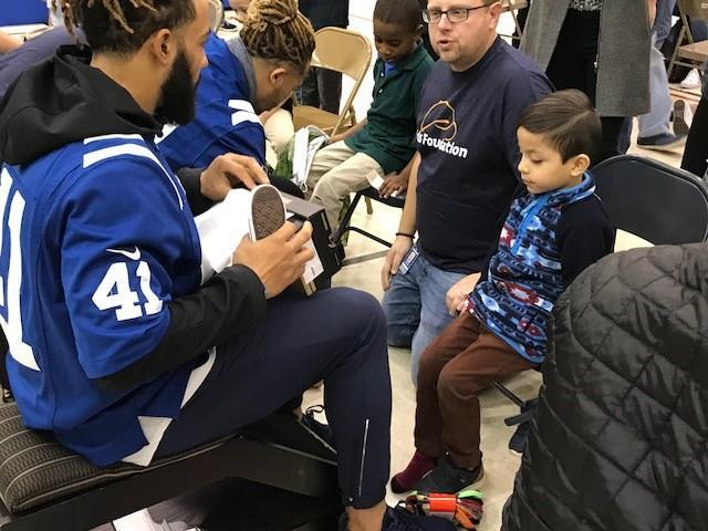 Lids and Colts Shoe Giveaway