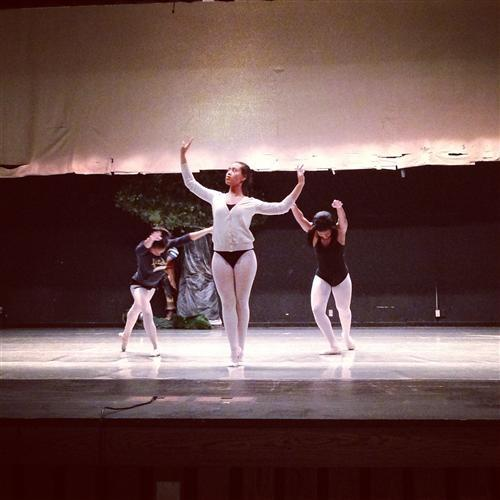 """Broad Ripple dance students rehearse for their performance of """"The Nutcracker"""""""