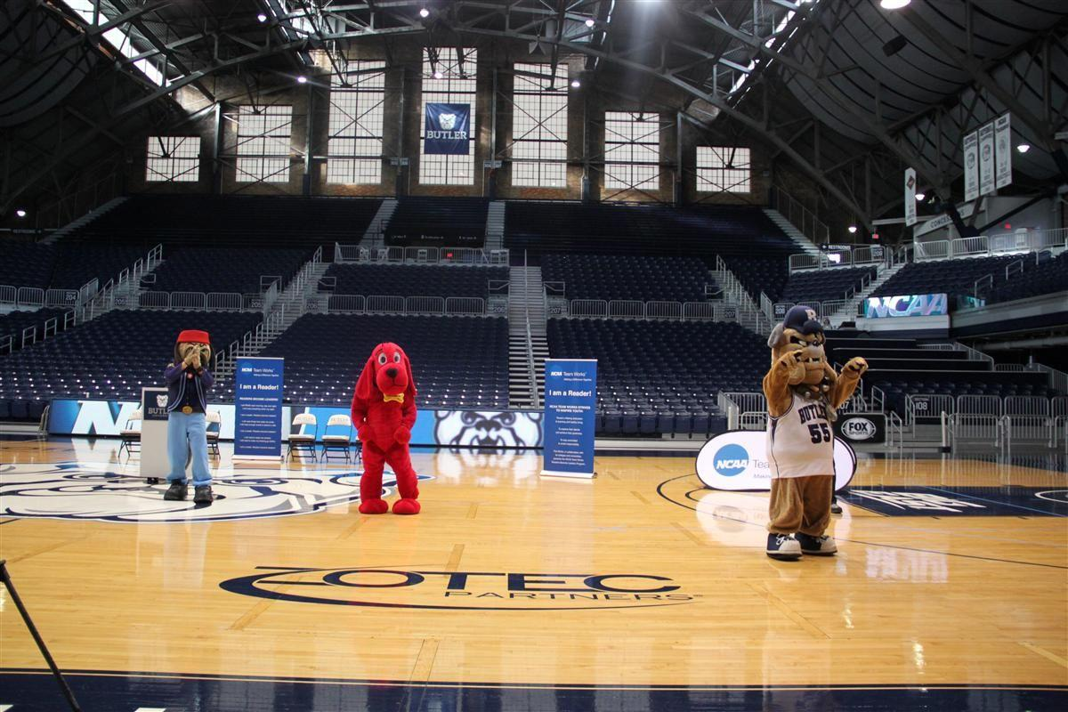 Read to the Final Four Mascots