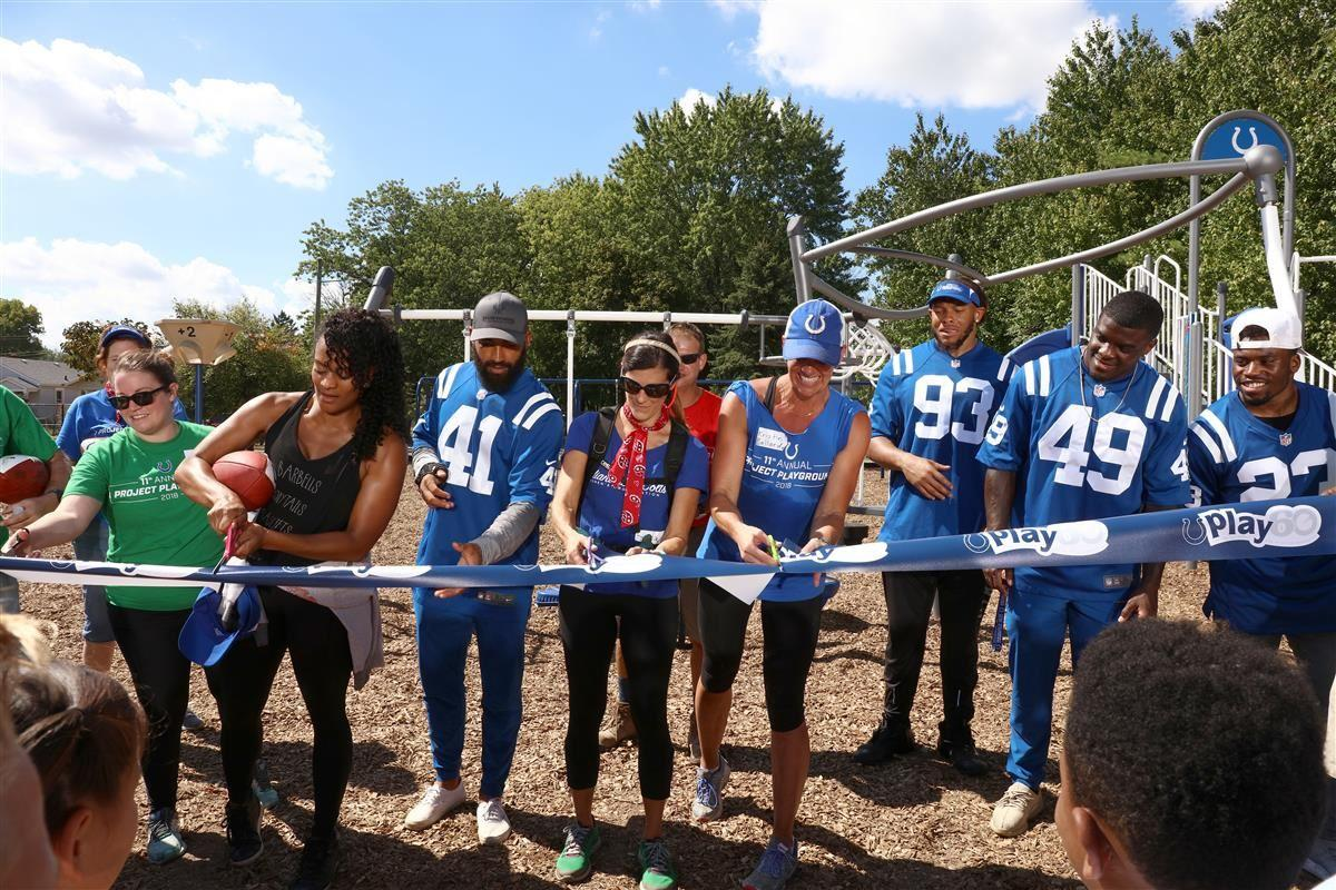 Colts Playground Build