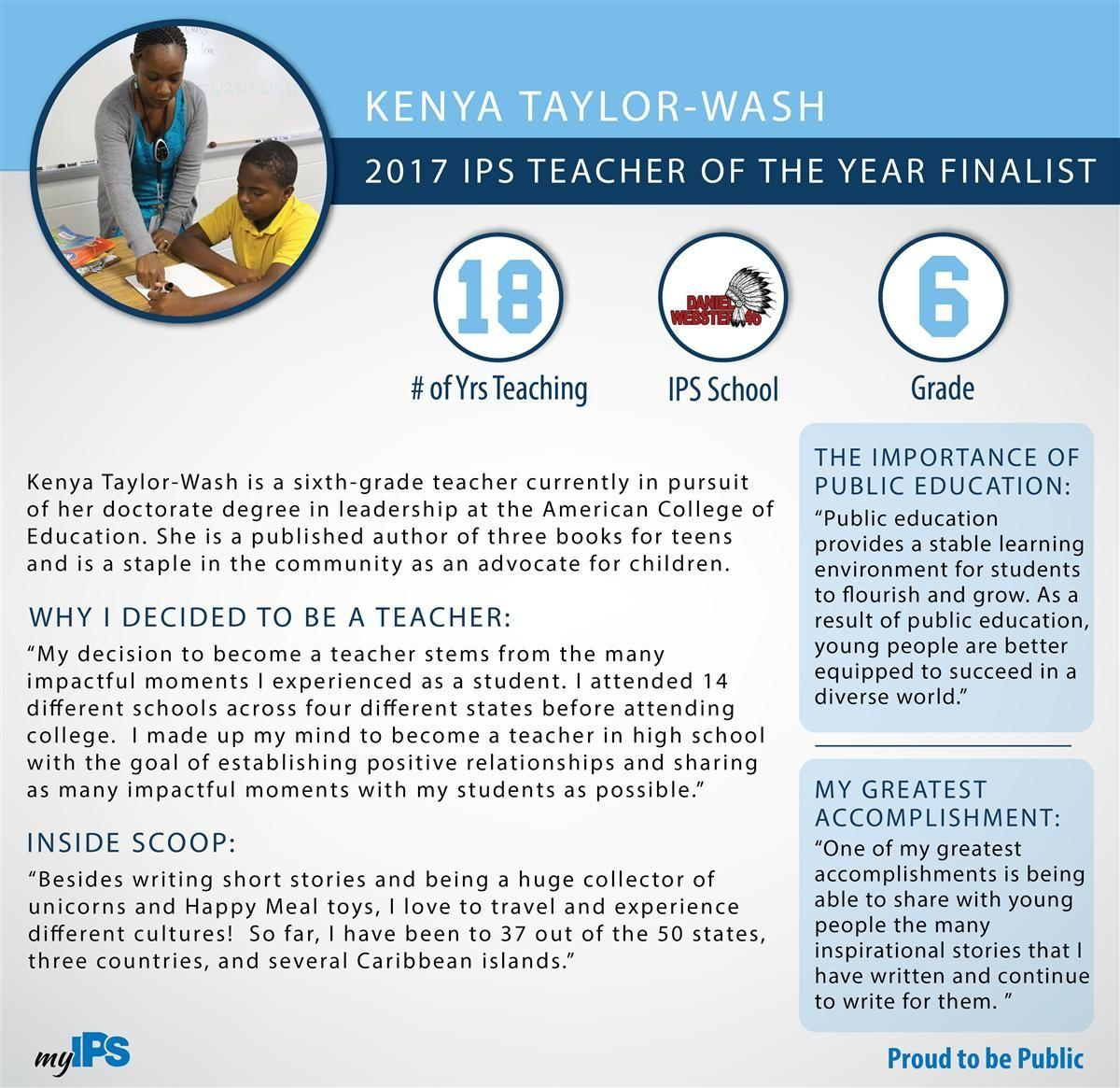 Kenya Taylor-Wash TOY Infographic