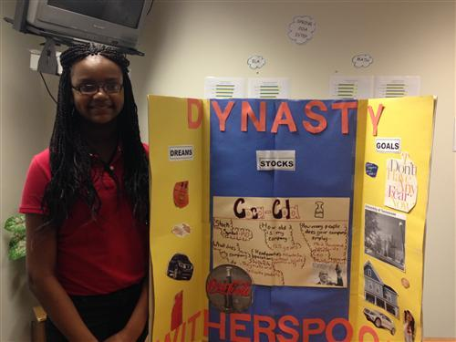 IPS Students Give Presentations before Fifth Third Leadership