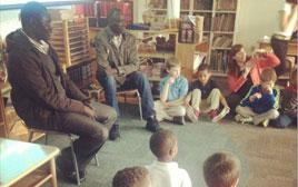 Students Learn with South Sudanese Teachers