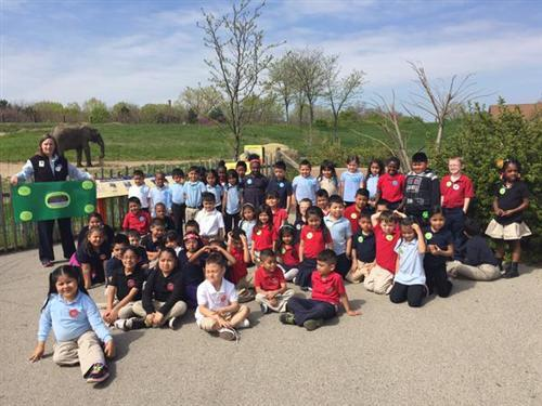 Save the Elephants: Meredith Nicholson Kindergarteners On a Mission