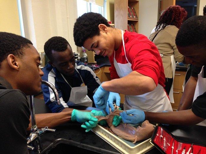 Crispus Attucks Biology class