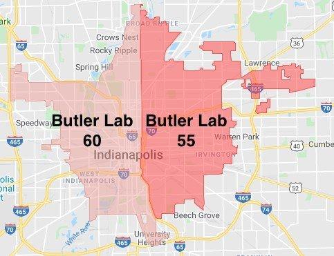 Butler Lab Zones