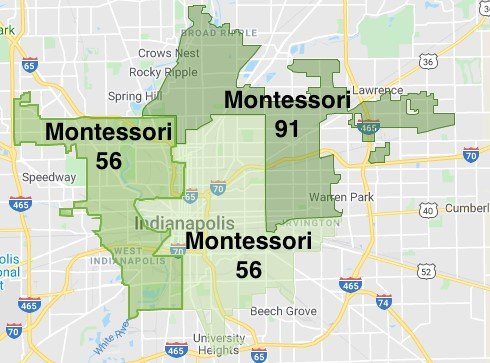 Montessori Zones