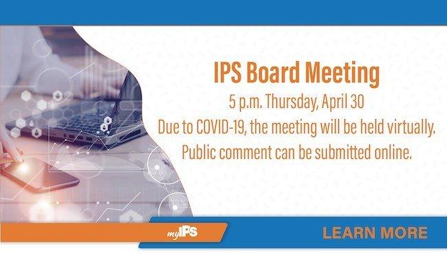 IPS Board Meeting Electronic Broadcast