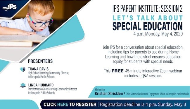 IPS Parent Institute Session 2 Registration