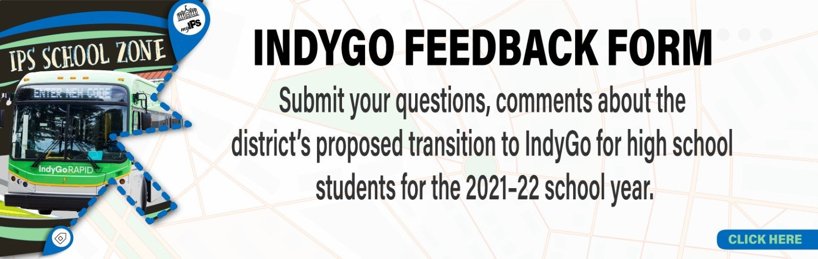 Indygo Feedback form