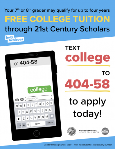 21st Century Scholars Scholarship Application Available Now! 1